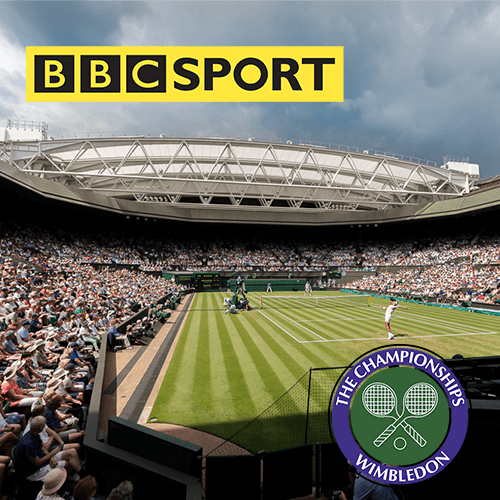 BBC Sports Wimbledon coverage