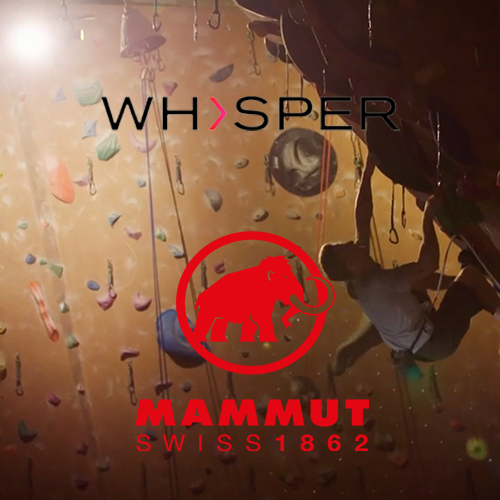 Mammut rock climbing sport climbing promo ahed of the summer olympics Tokyo 2020