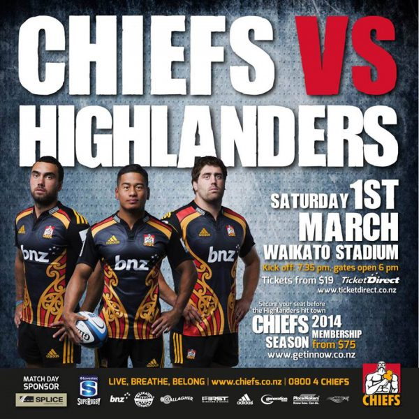 CHIEFS RUGBY TEAM PHOTOS