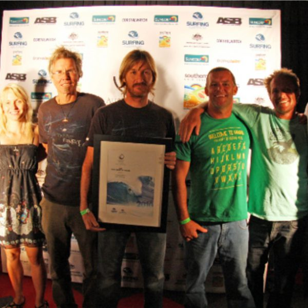 TRANSPARENTSEA VOYAGE WINS ASB SURF INDUSTRY AWARD