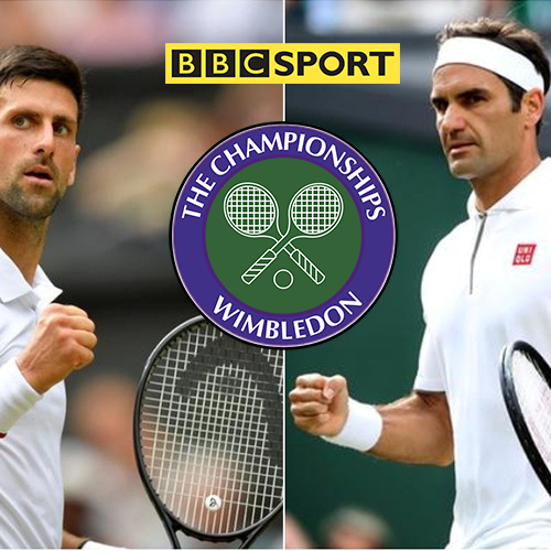 Wimbledon Mens Final 2019 Federa v's Djokovic